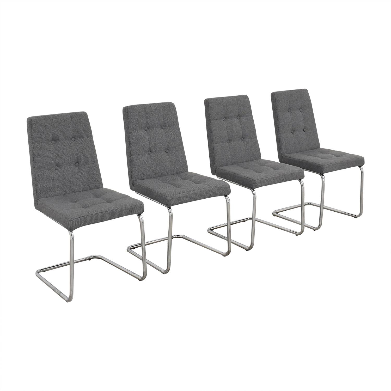 shop CB2 CB2 Roya Grey Chairs online