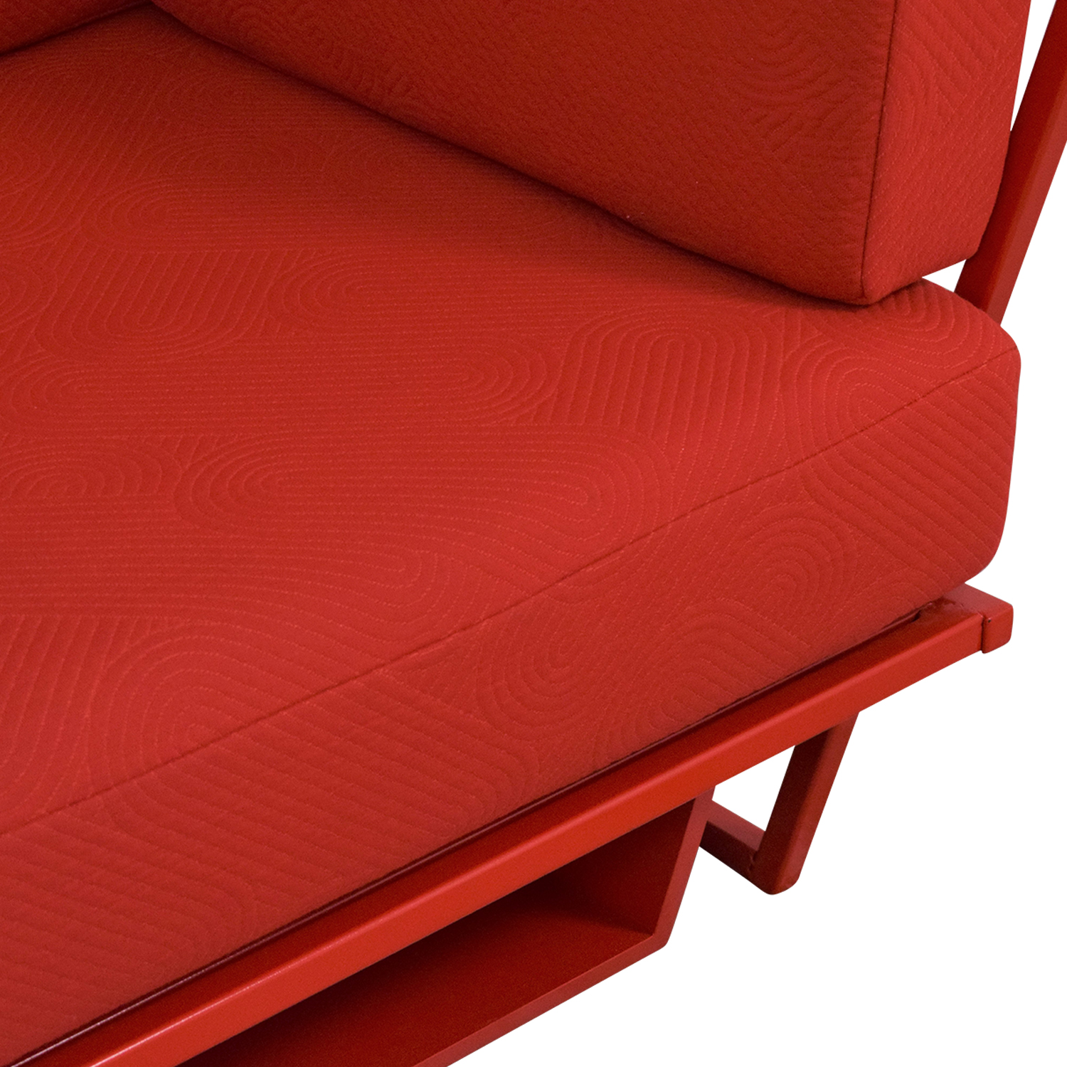 Collector NYC Custom Red Sofa sale