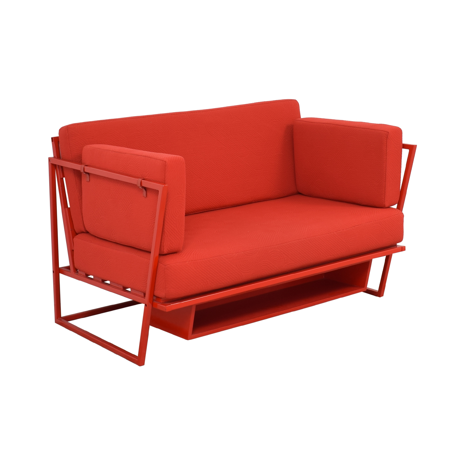 Collector NYC Custom Red Sofa Collector NYC