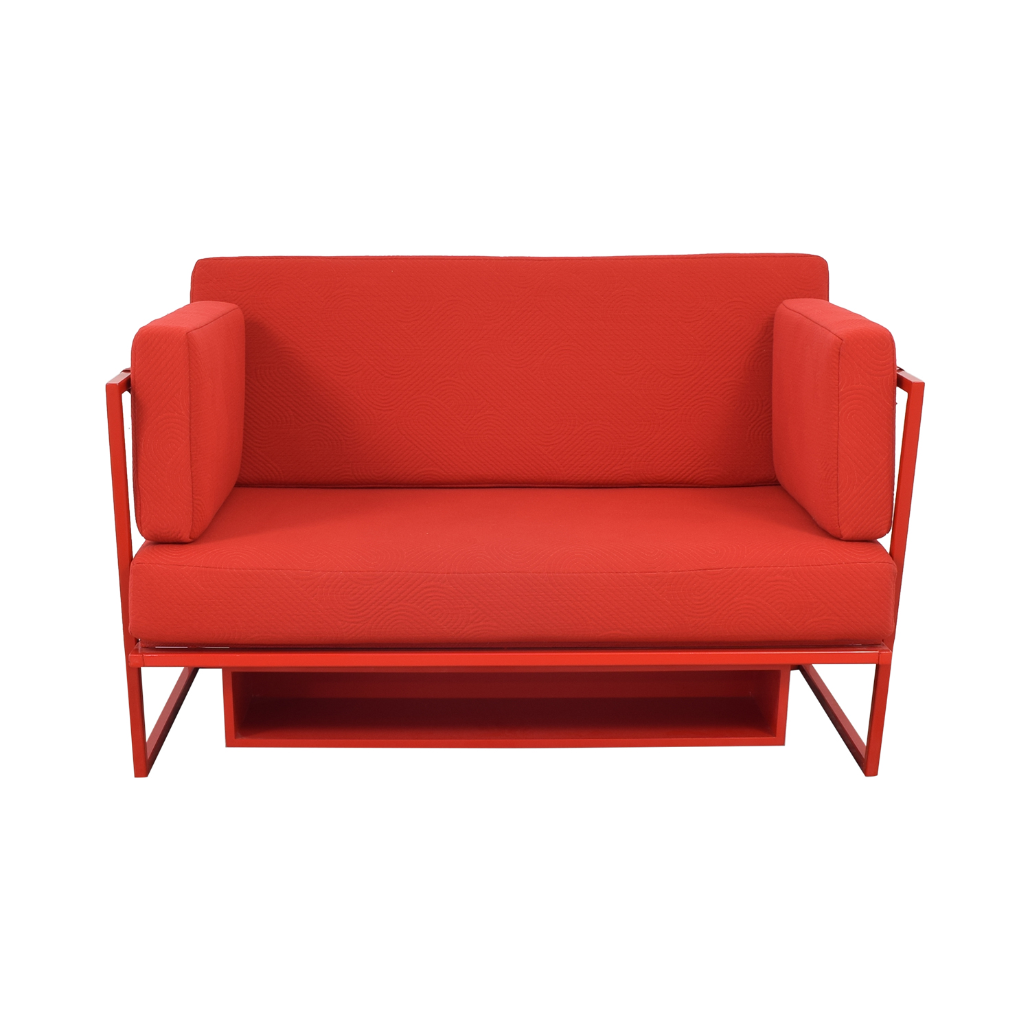 Collector NYC Collector NYC Custom Red Sofa for sale