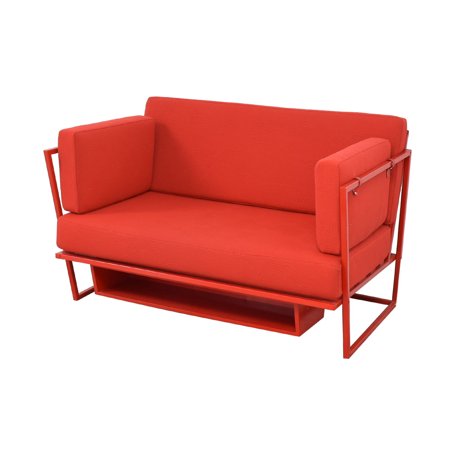 buy Collector NYC Custom Red Sofa Collector NYC Sofas