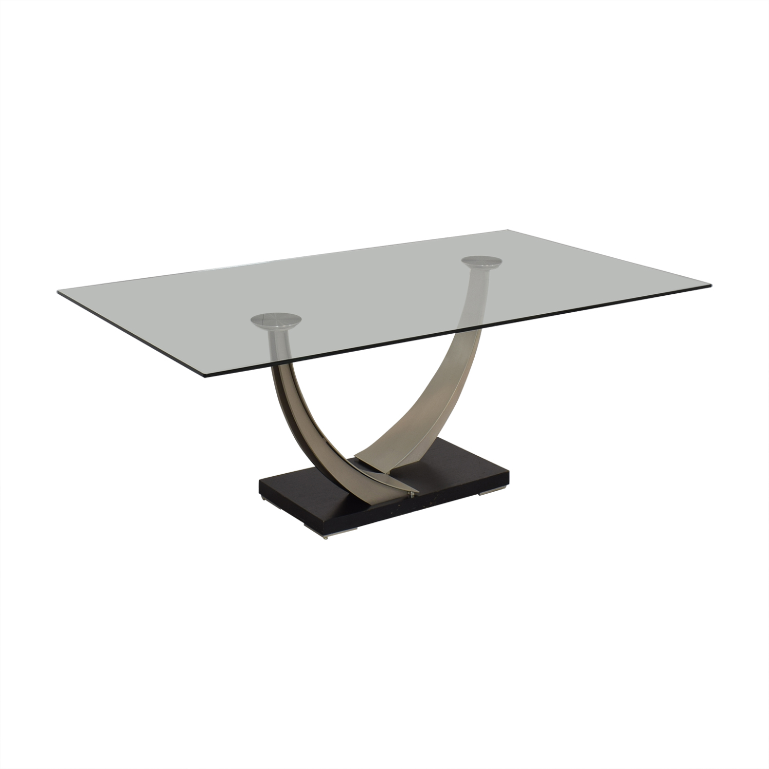 Modern Glass Top Dining Table price