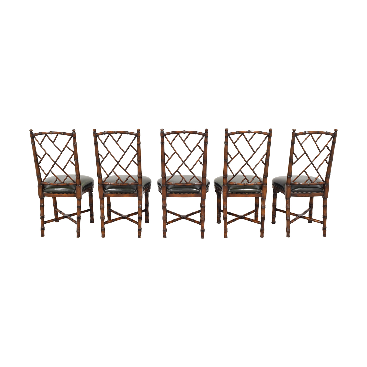 Theodore Alexander Trellis Side Chairs / Dining Chairs