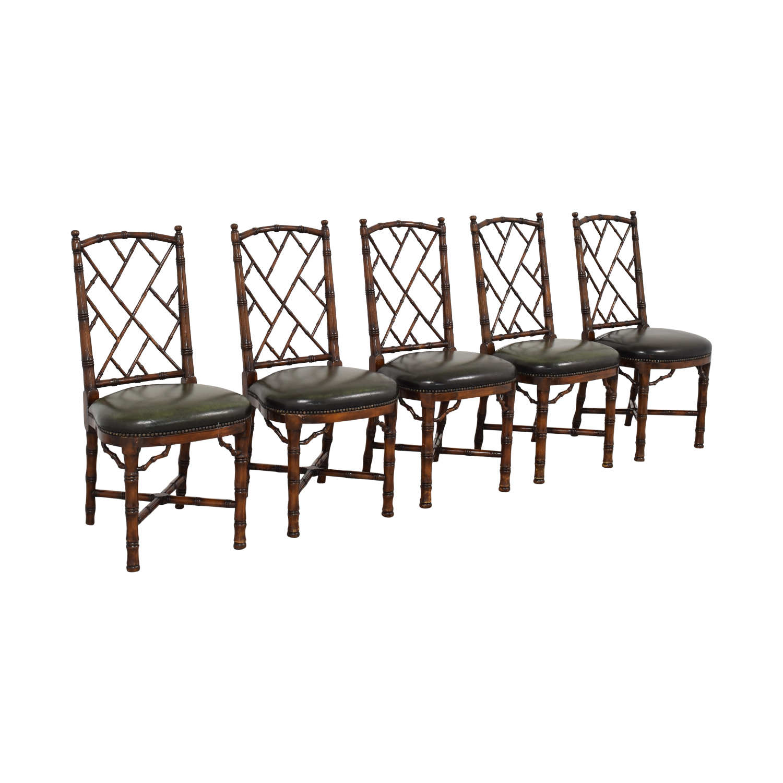 Theodore Alexander Theodore Alexander Trellis Side Chairs price