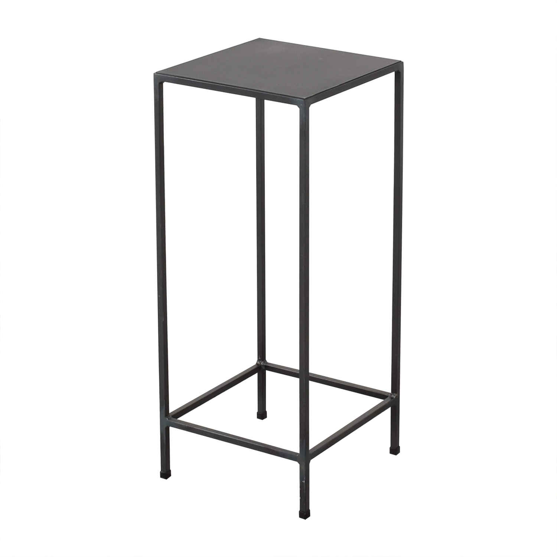 buy Room & Board Slim Pedestal Table Room & Board End Tables