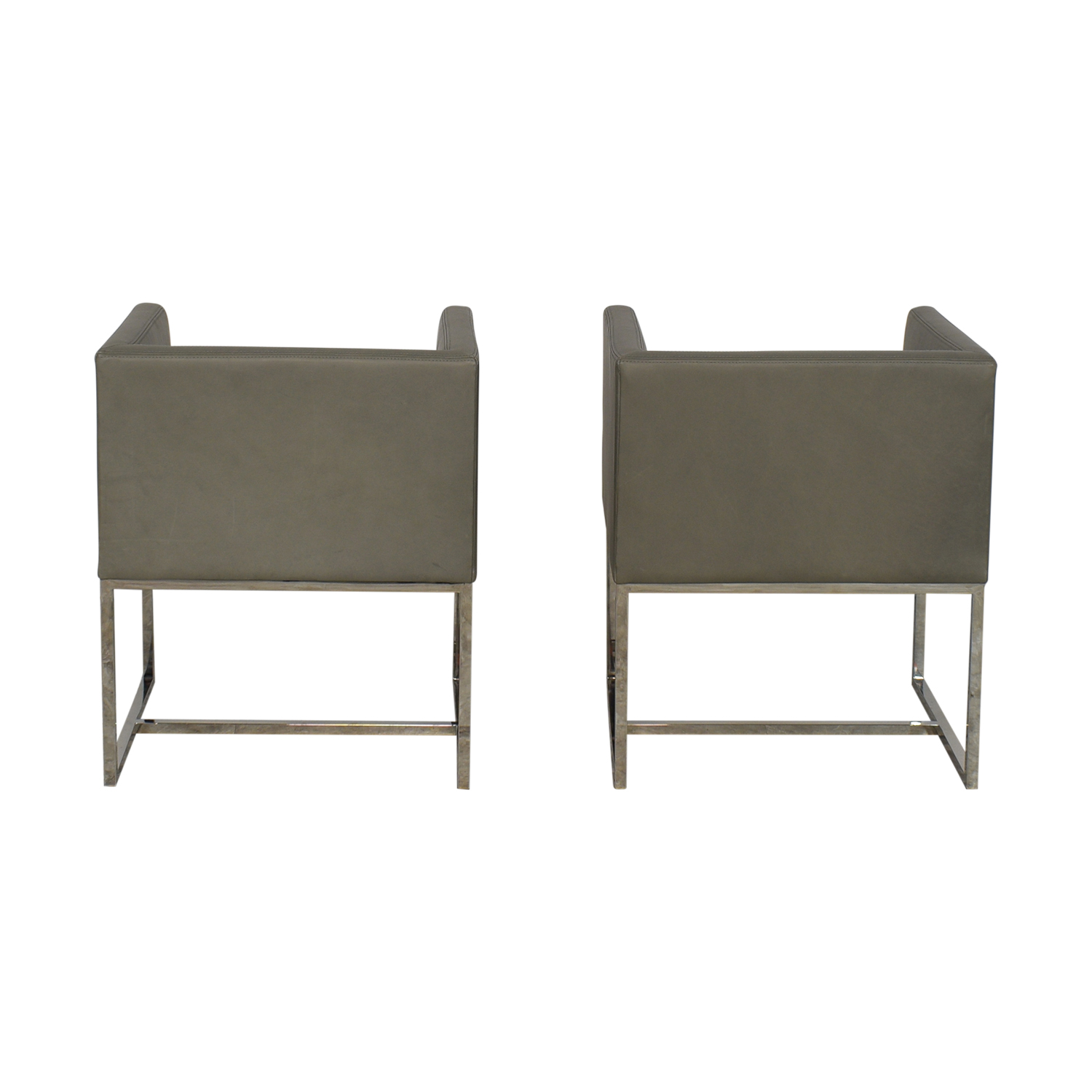 Restoration Hardware Restoration Hardware Emery Shelter Arm Chairs on sale