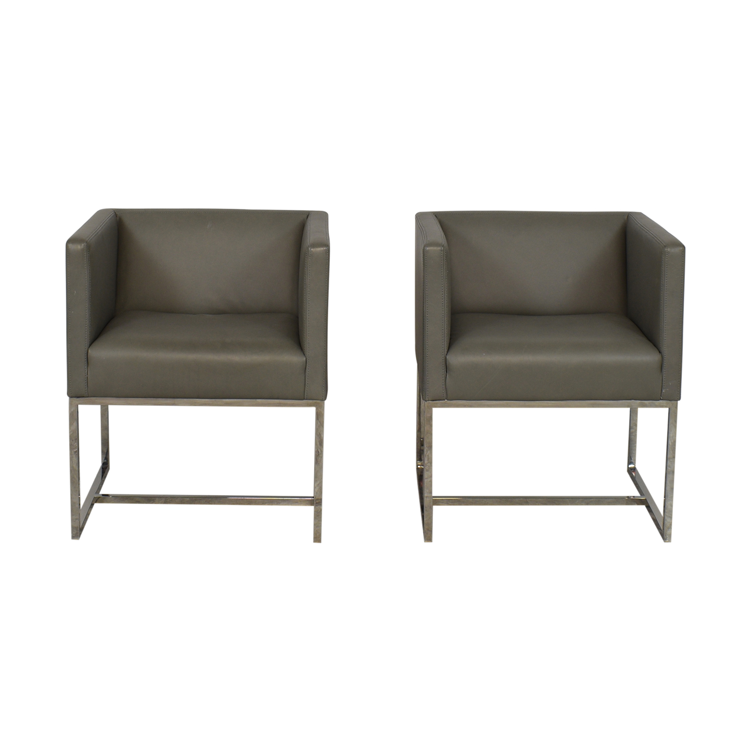 Restoration Hardware Restoration Hardware Emery Shelter Arm Chairs nyc