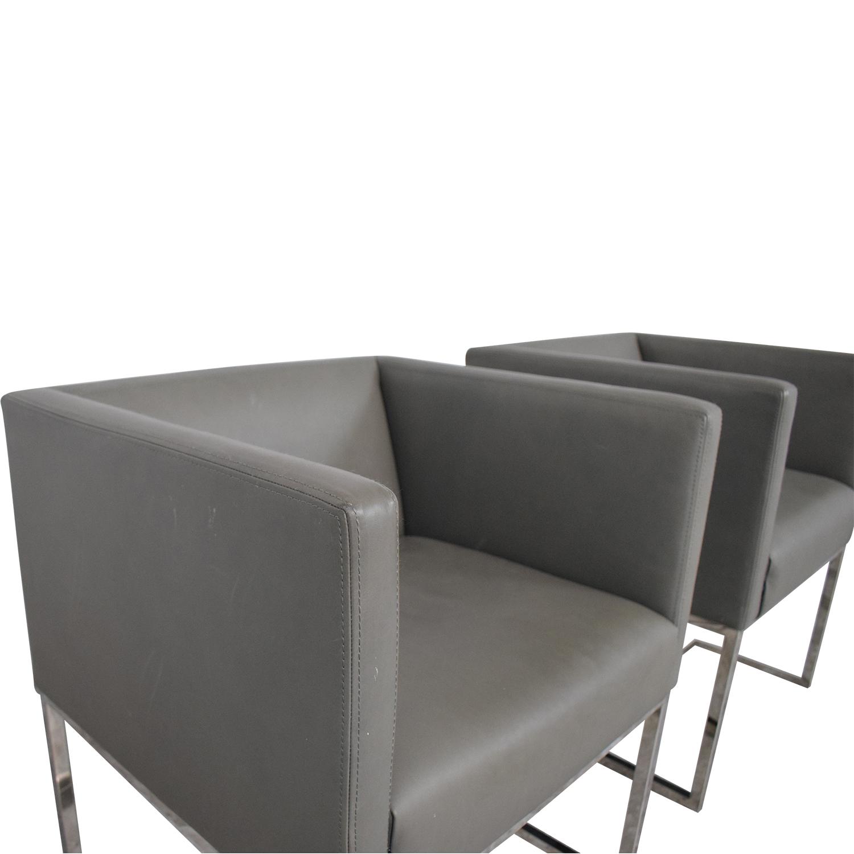 shop Restoration Hardware Emery Shelter Arm Chairs Restoration Hardware