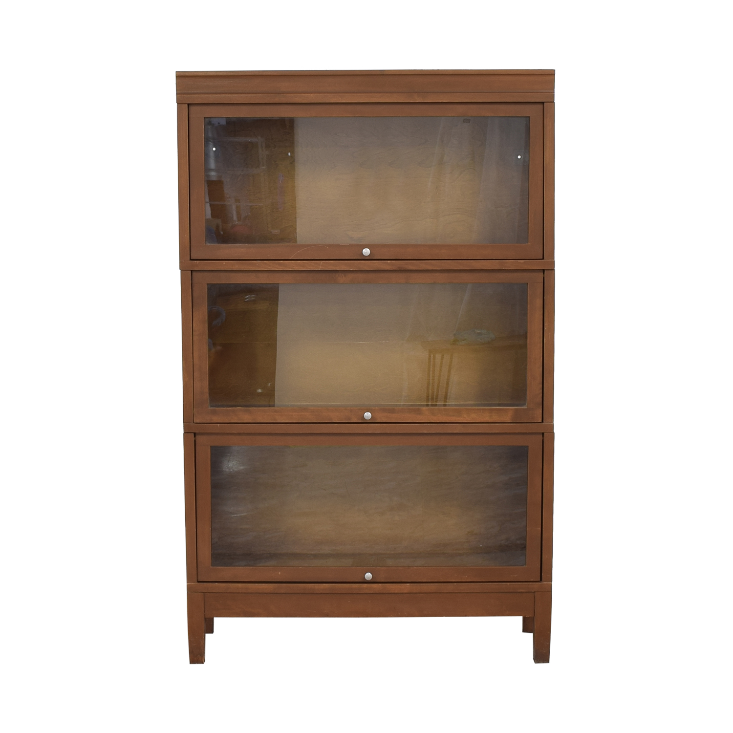 Hale Hale Sectional Barrister Three Stack Bookcase brown