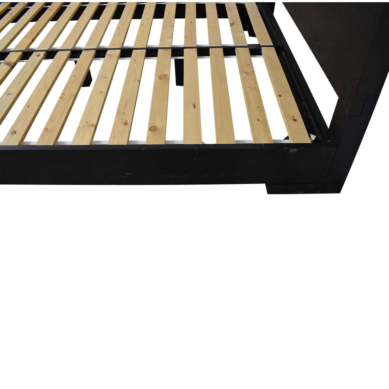 West Elm West Elm Modern Oak Bed discount