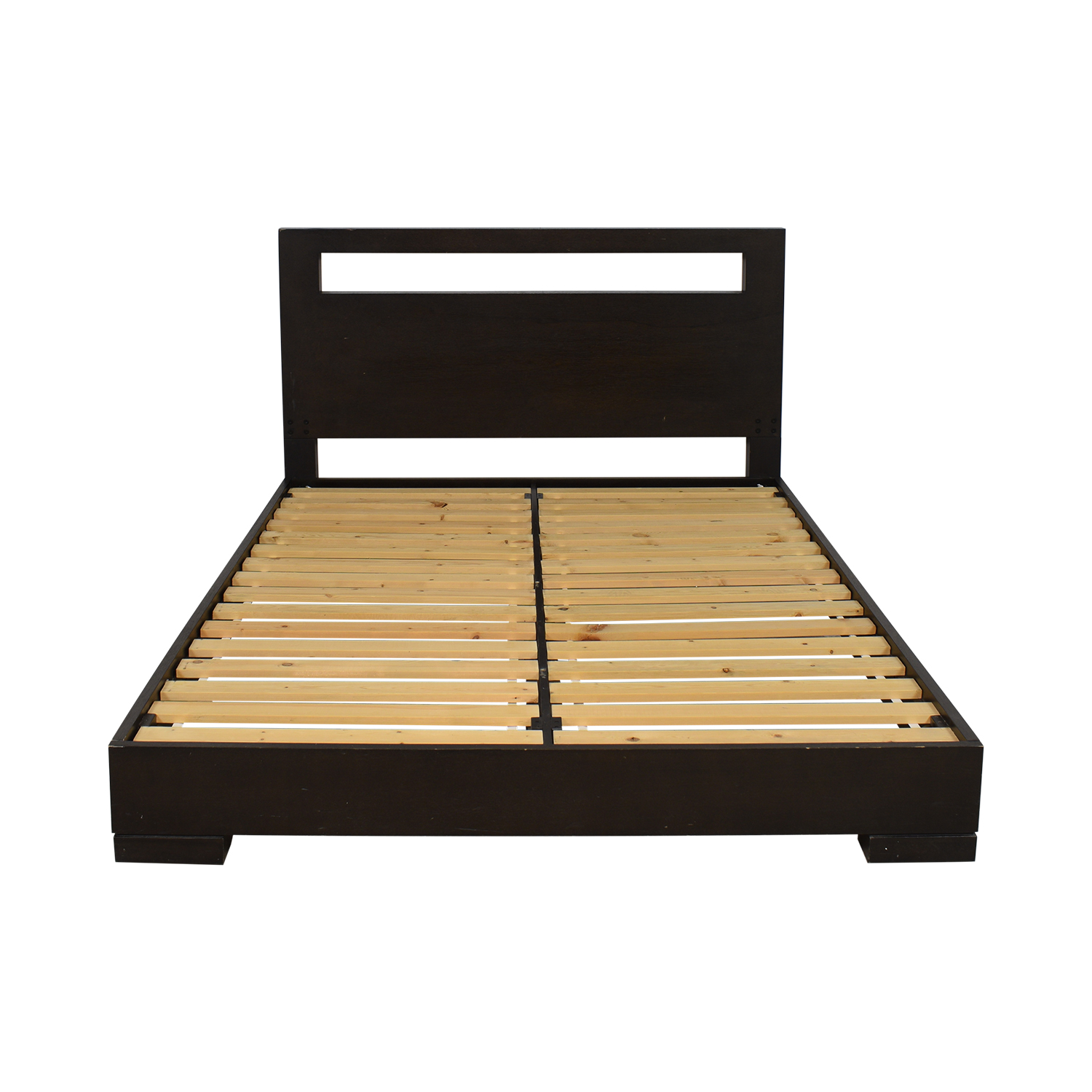 West Elm West Elm Modern Oak Bed Bed Frames