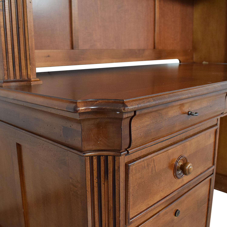 Stanley Furniture Stanley Furniture Executive Desk and Hutch nj