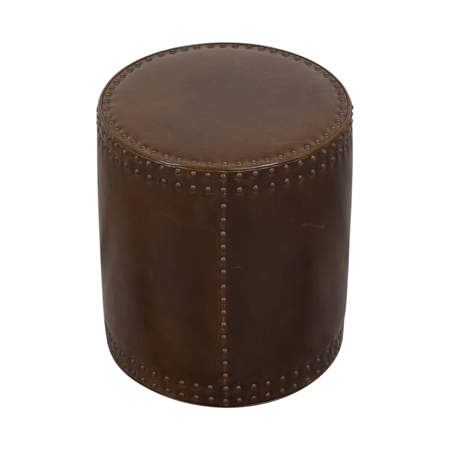 Lee Industries Lee Industries Studded Drum Ottoman used