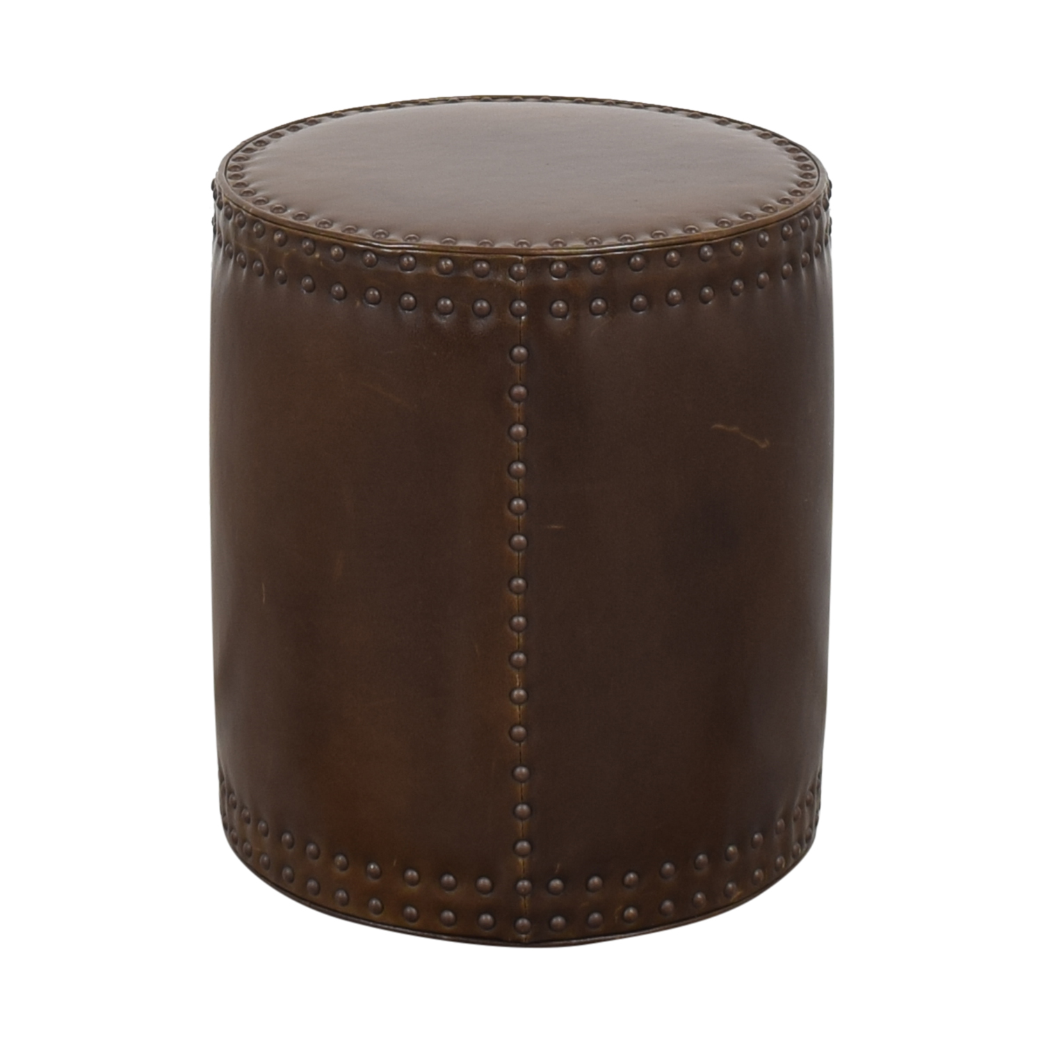 buy Lee Industries Lee Industries Studded Drum Ottoman online