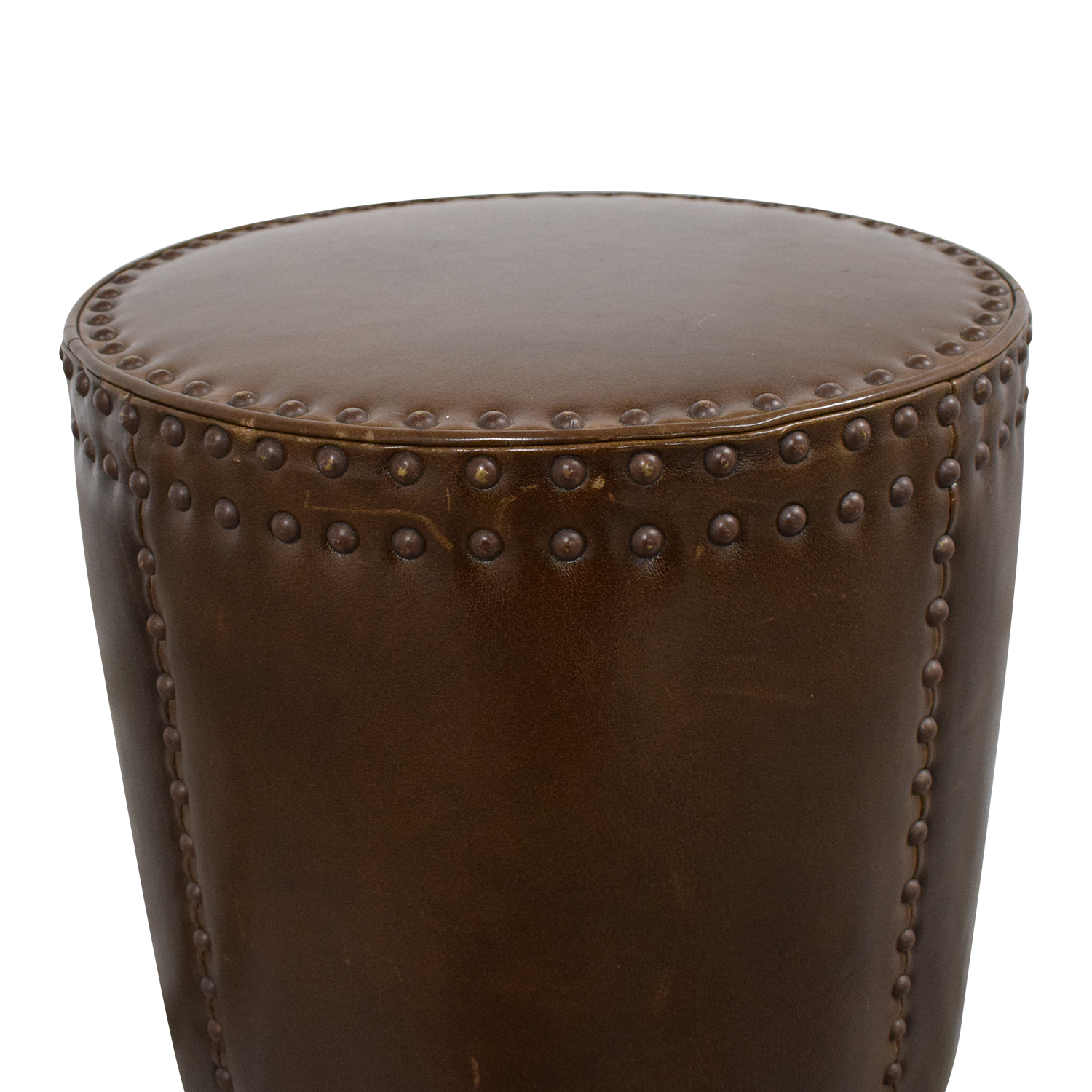 Lee Industries Lee Industries Studded Drum Ottoman Chairs