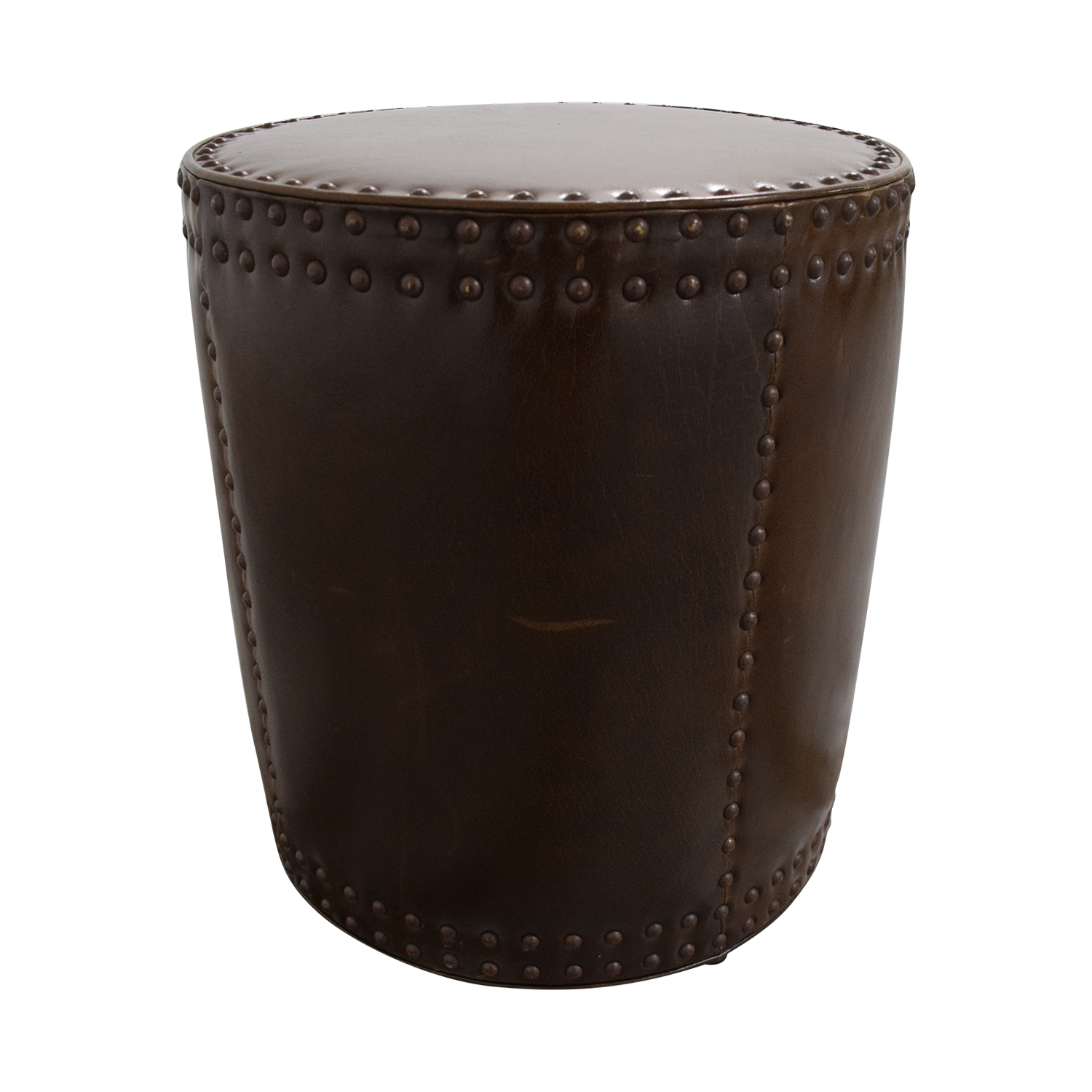 buy Lee Industries Studded Drum Ottoman Lee Industries Ottomans