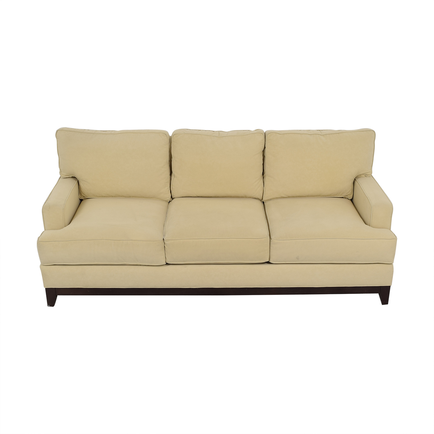Ethan Allen Three Cushion Sofa / Sofas