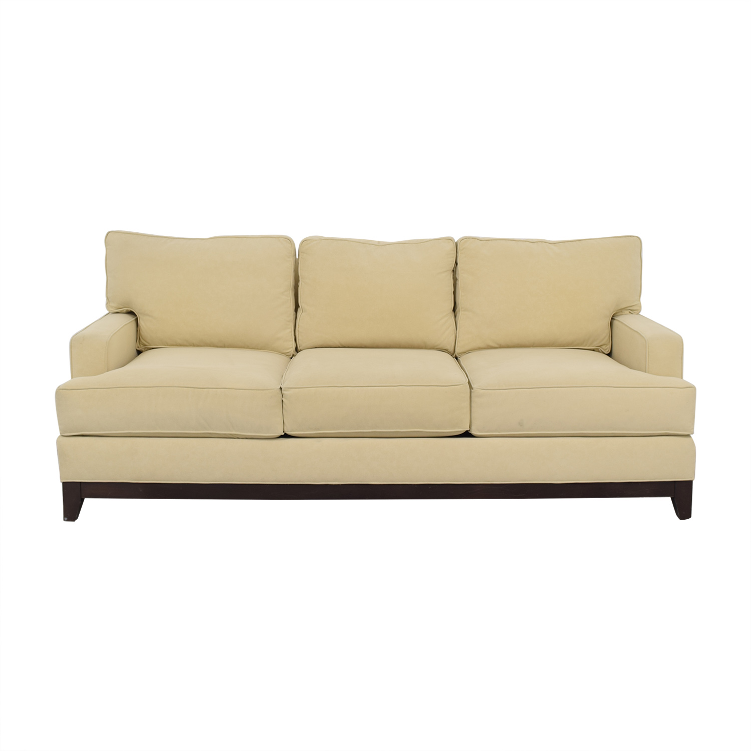 Ethan Allen Three Cushion Sofa / Classic Sofas