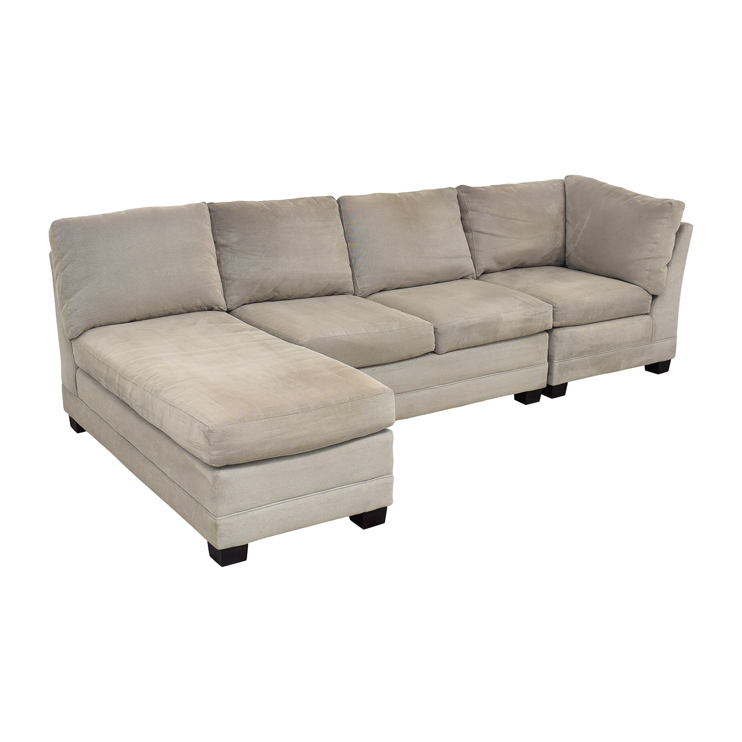 buy Crate & Barrel Sectional Sofa with Chaise Crate & Barrel Sectionals