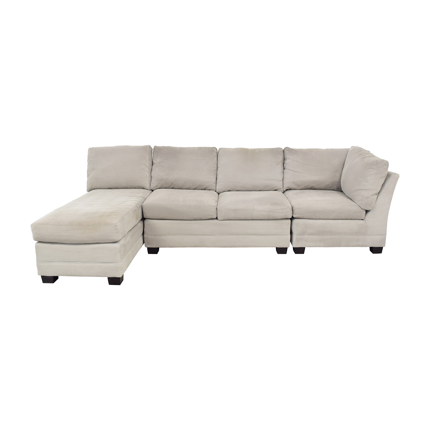 Crate & Barrel Crate & Barrel Sectional Sofa with Chaise price