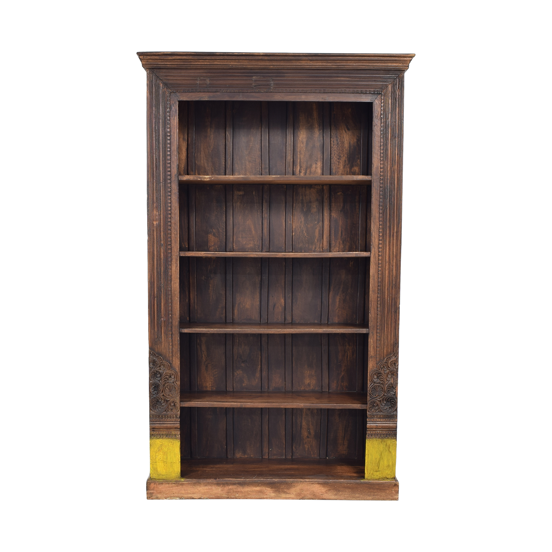 Antique Carved Bookshelf nj