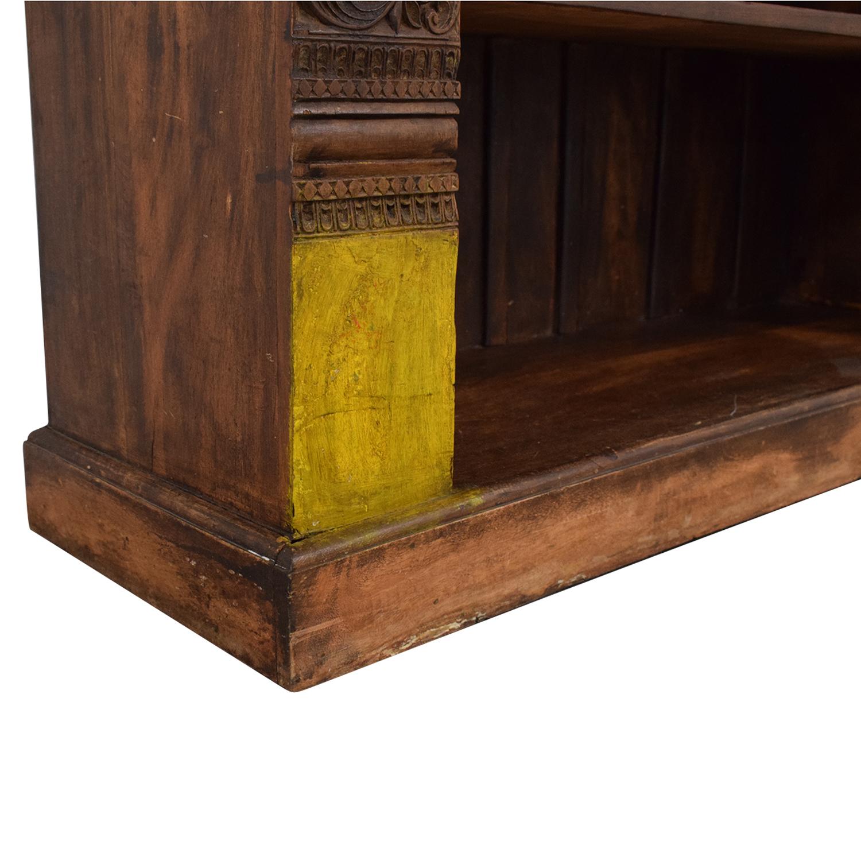 Antique Carved Bookshelf ma