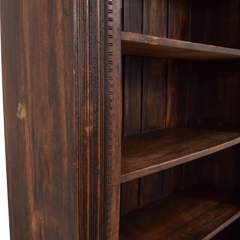 Antique Carved Bookshelf for sale