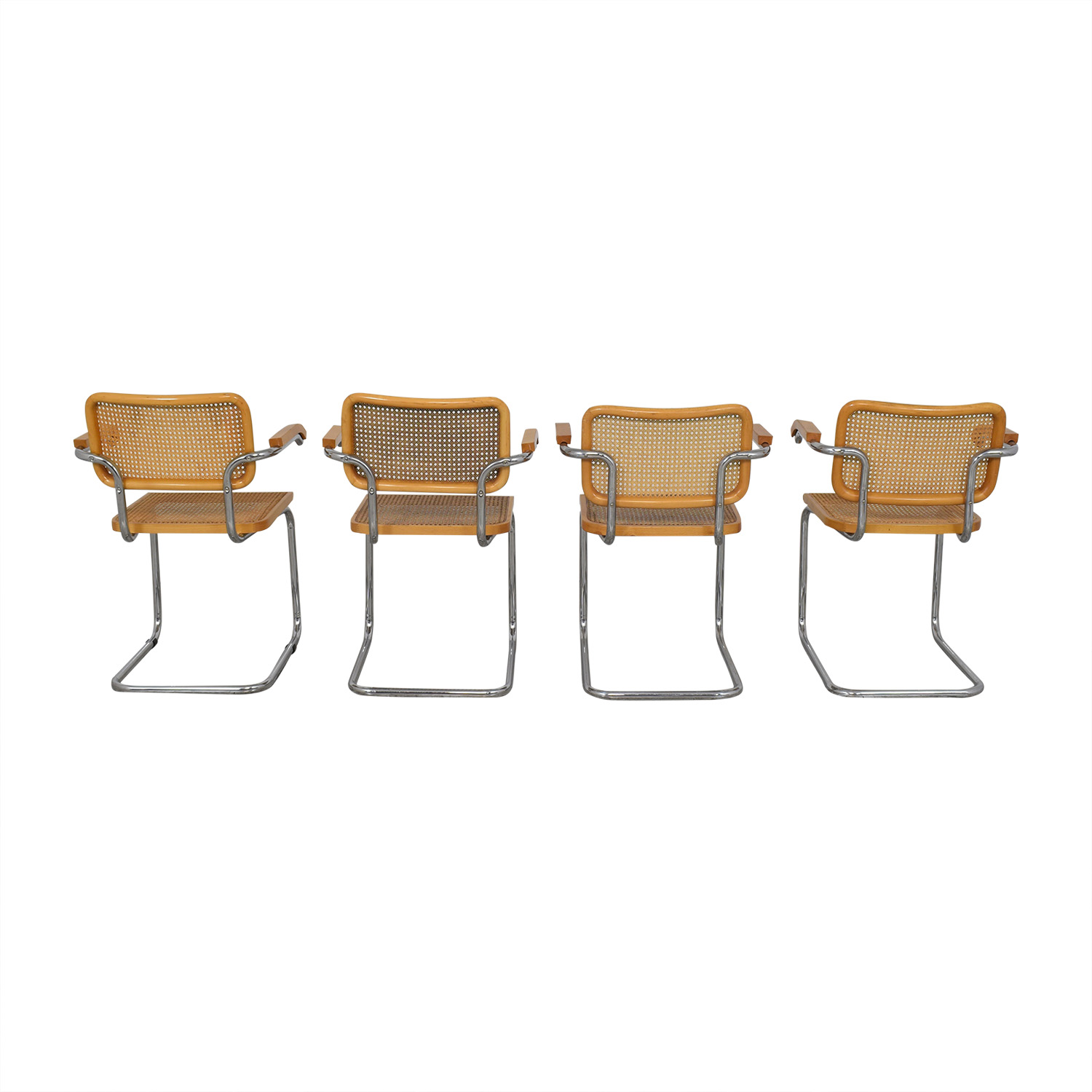 Scandinavian Designs Scandinavian Designs Bendt Dining Arm Chairs ma
