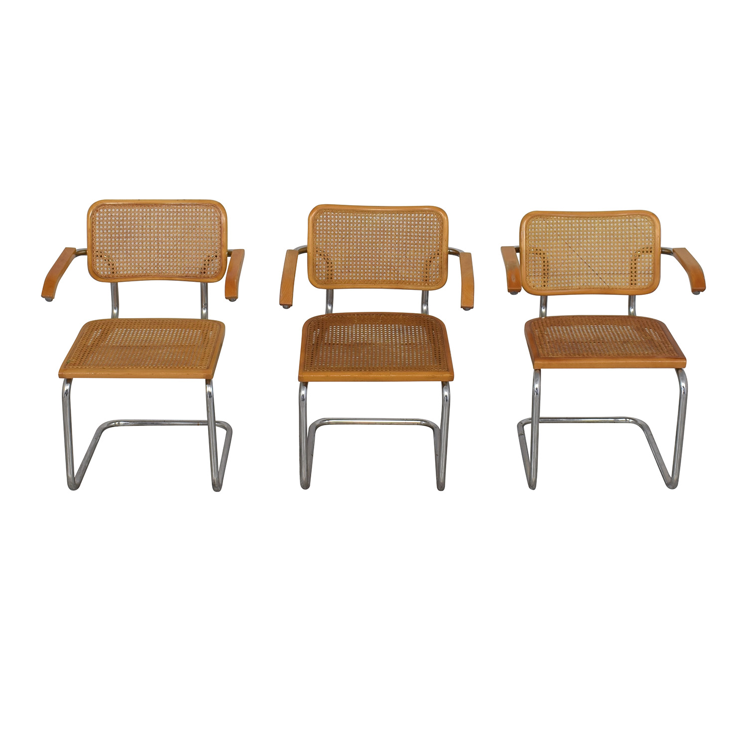 Scandinavian Designs Scandinavian Designs Bendt Dining Arm Chairs nj