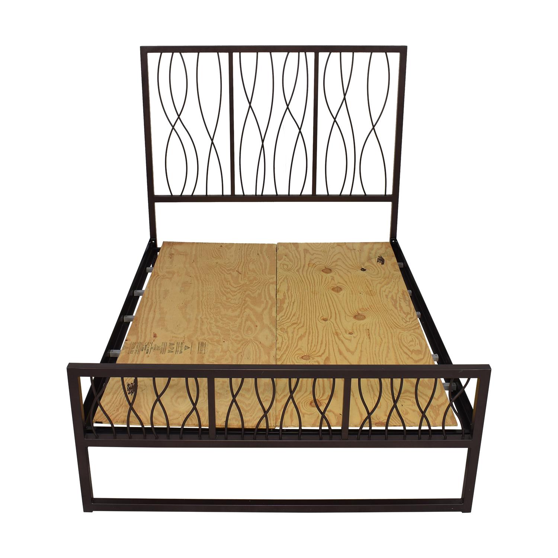 shop Su Casa Metal Queen Bed Frame Su Casa
