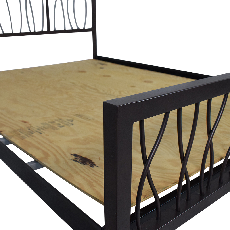 Su Casa Su Casa Metal Queen Bed Frame price