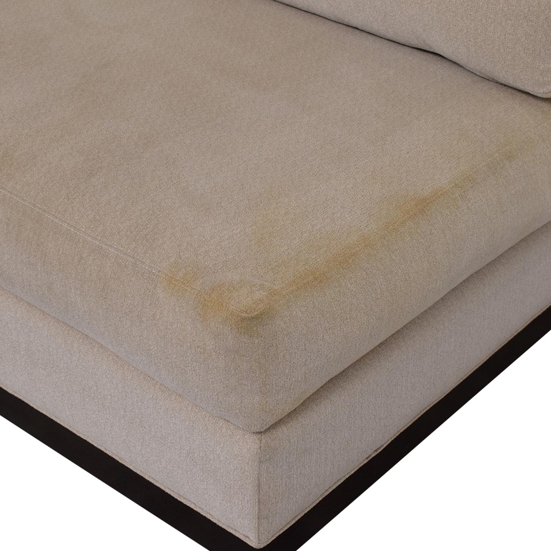 ABC Carpet & Home Cisco Brothers Armless Loveseat / Loveseats