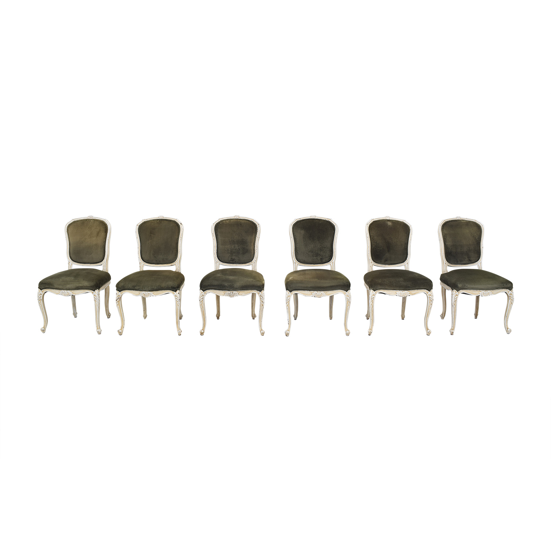 shop ABC Carpet & Home Velvet Dining Chairs ABC Carpet & Home