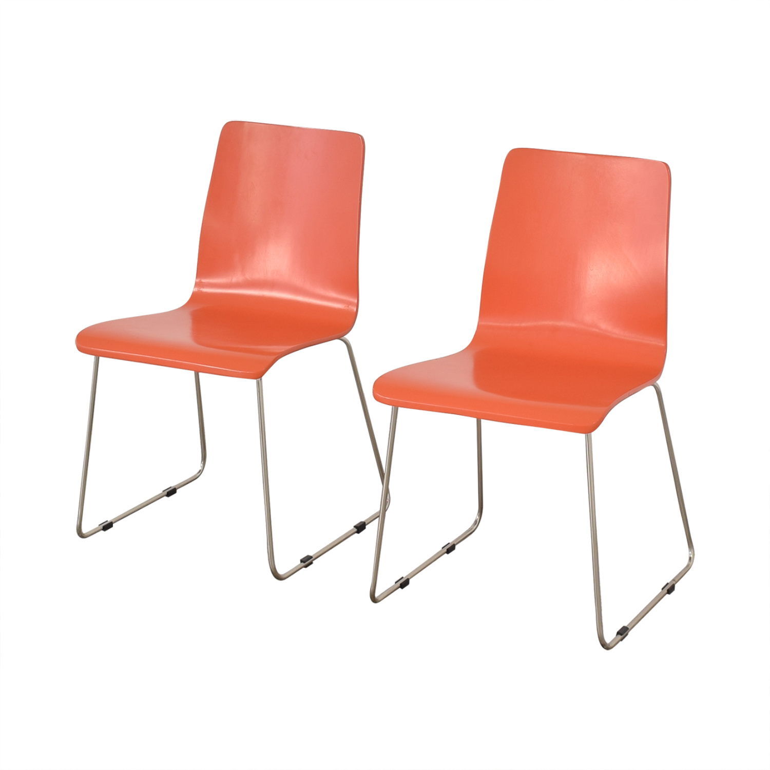 CB2 Side Chairs sale