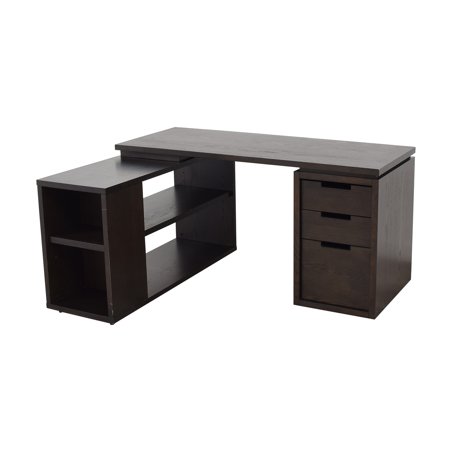West Elm West Elm Modular Office L-shaped Desk and Bookcase on sale