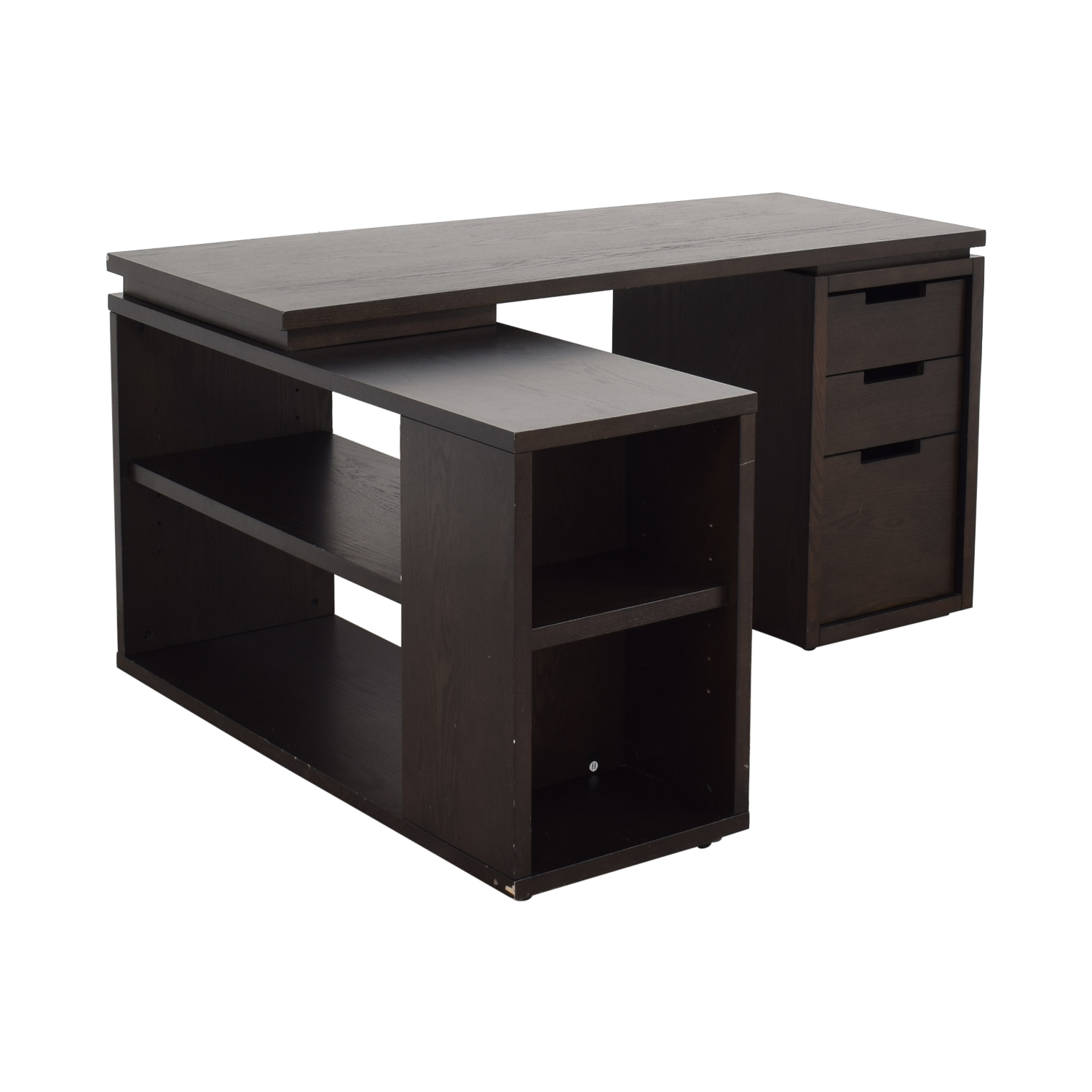 buy West Elm West Elm Modular Office L-shaped Desk and Bookcase online