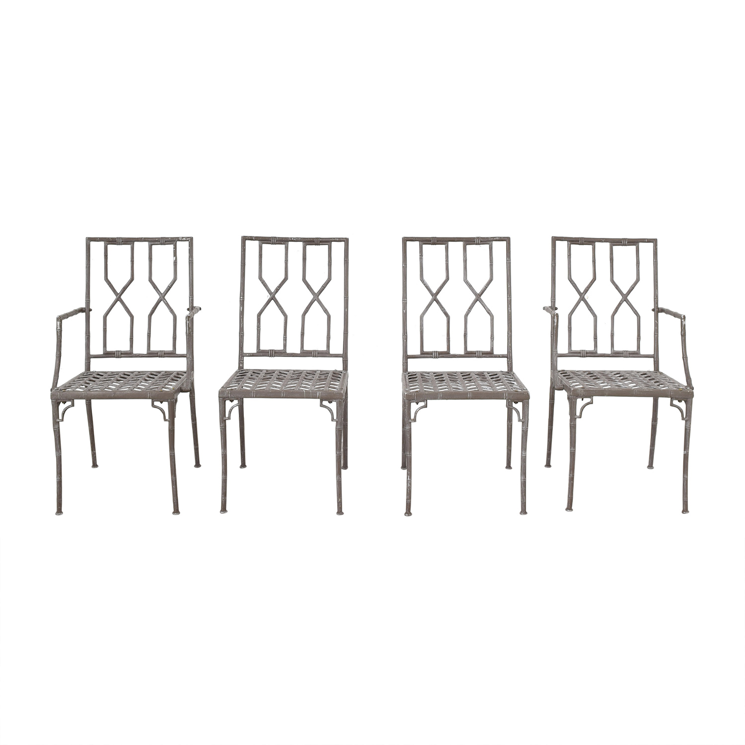 Hollywood Regency Chinoiserie Chairs on sale