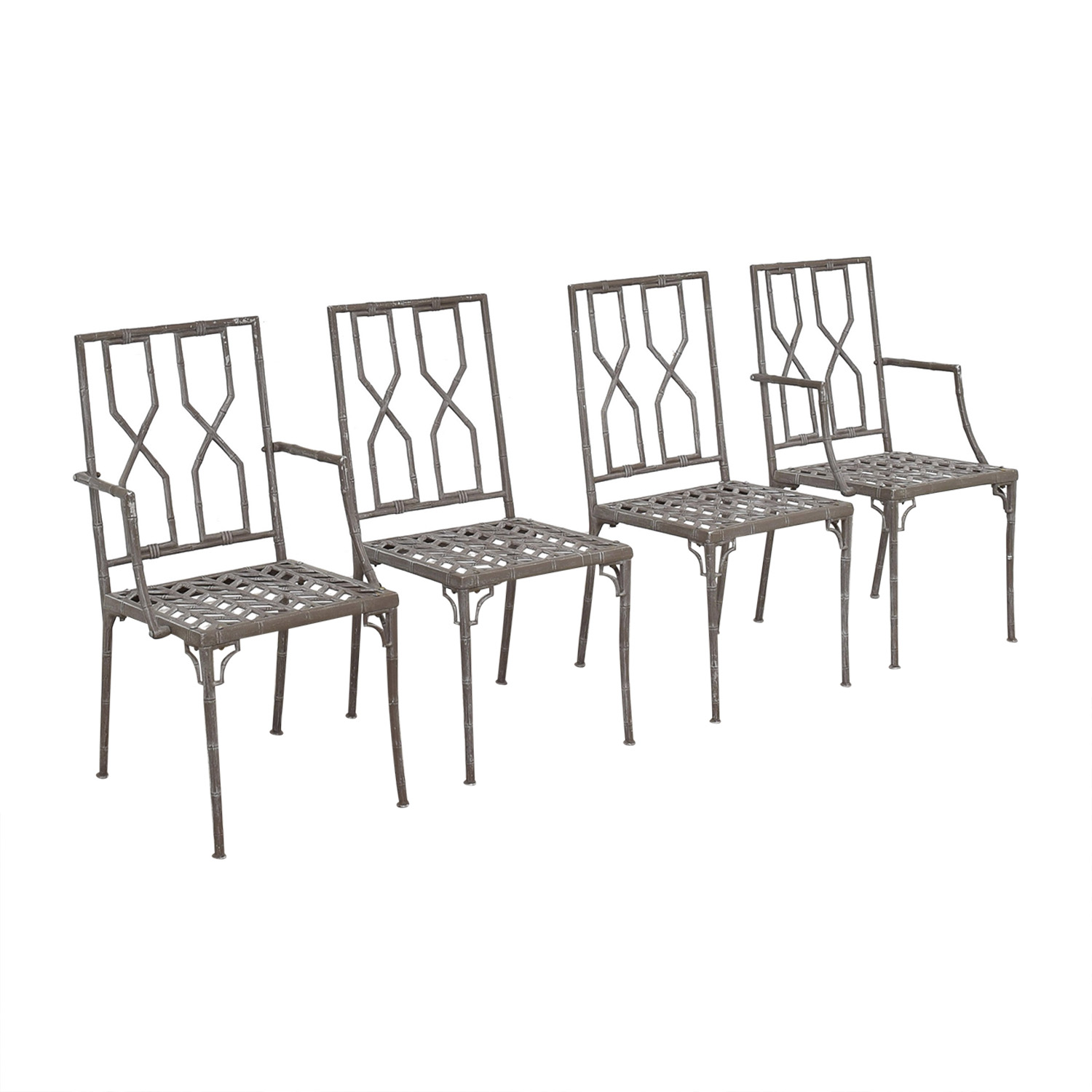 Hollywood Regency Chinoiserie Chairs Dining Chairs
