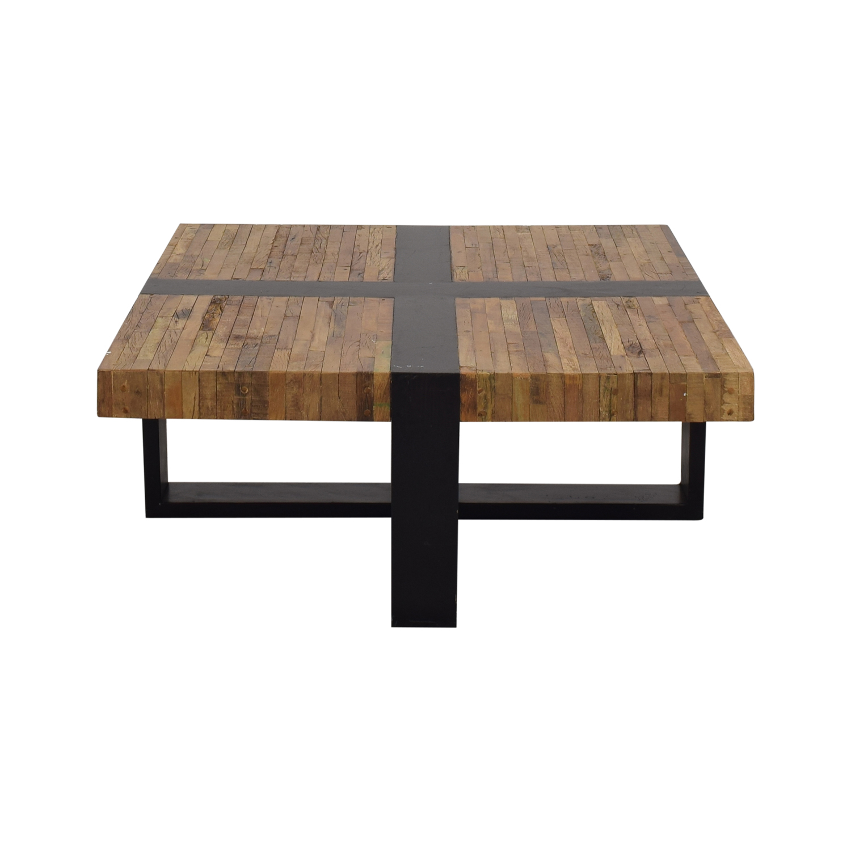 buy Crate & Barrel Seguro Square Coffee Table Crate & Barrel