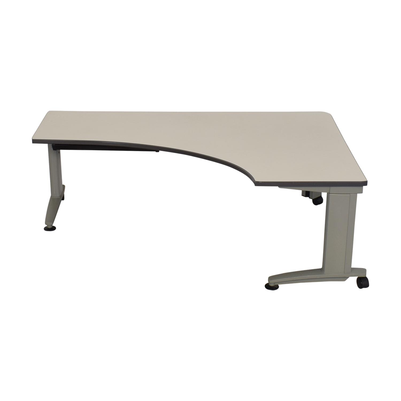 Knoll Currents Table Corner Desk / Home Office Desks