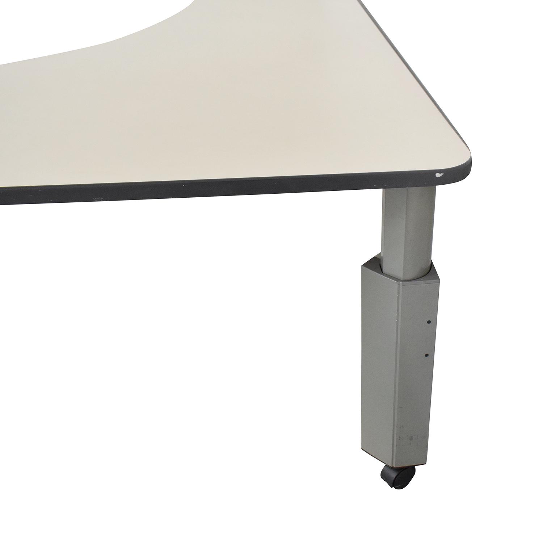 Knoll Knoll Currents Table Corner Desk Home Office Desks