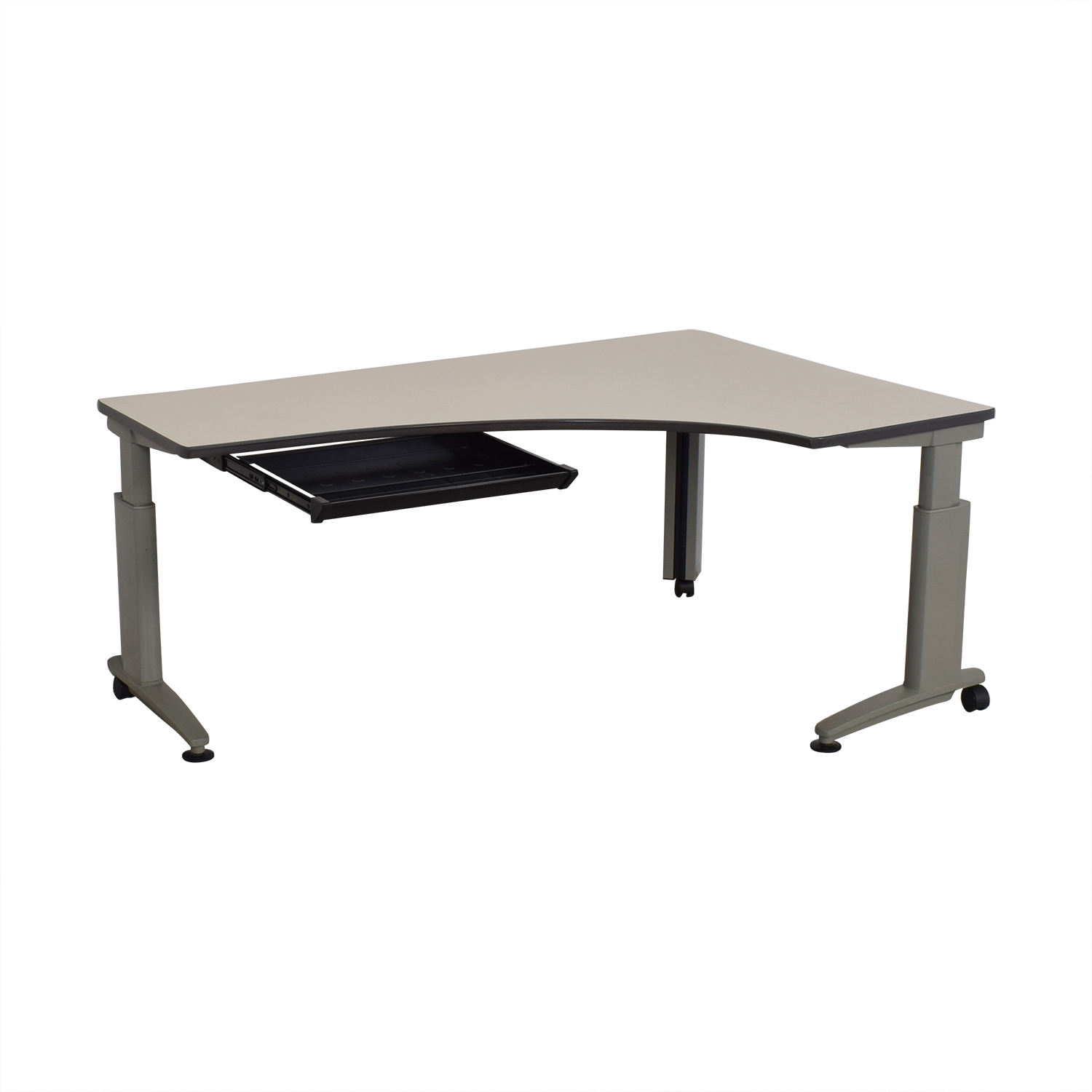 buy Knoll Currents Table Corner Desk Knoll Tables
