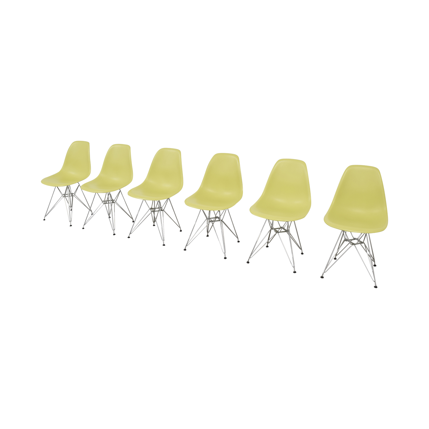 Vitra Vitra Eames Molded Plastic Wire-Base Side Chairs discount
