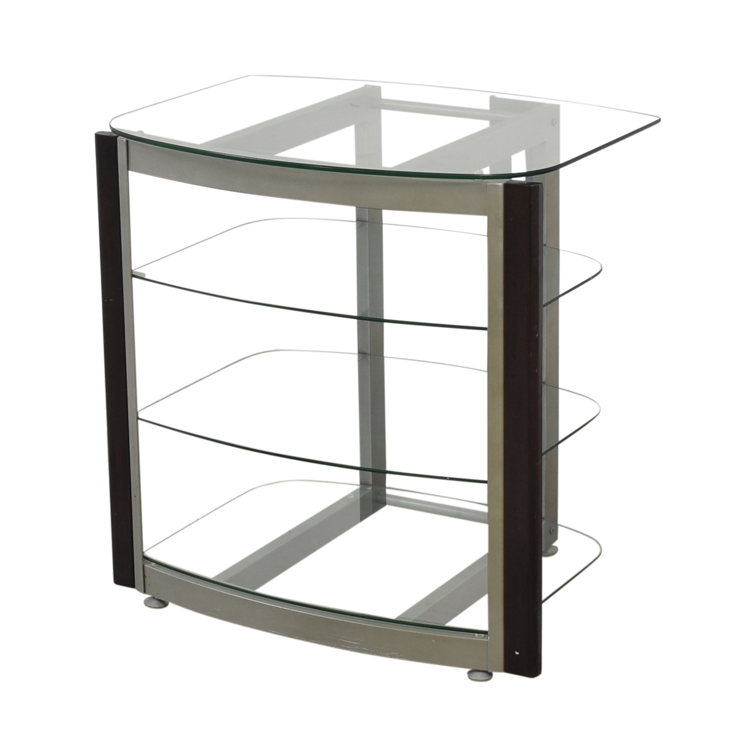 West Elm Glass TV Stand coupon