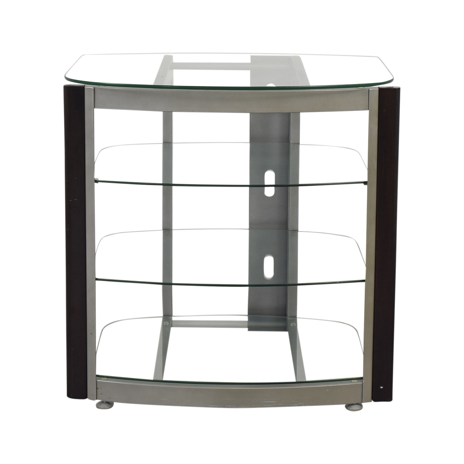 West Elm Glass TV Stand