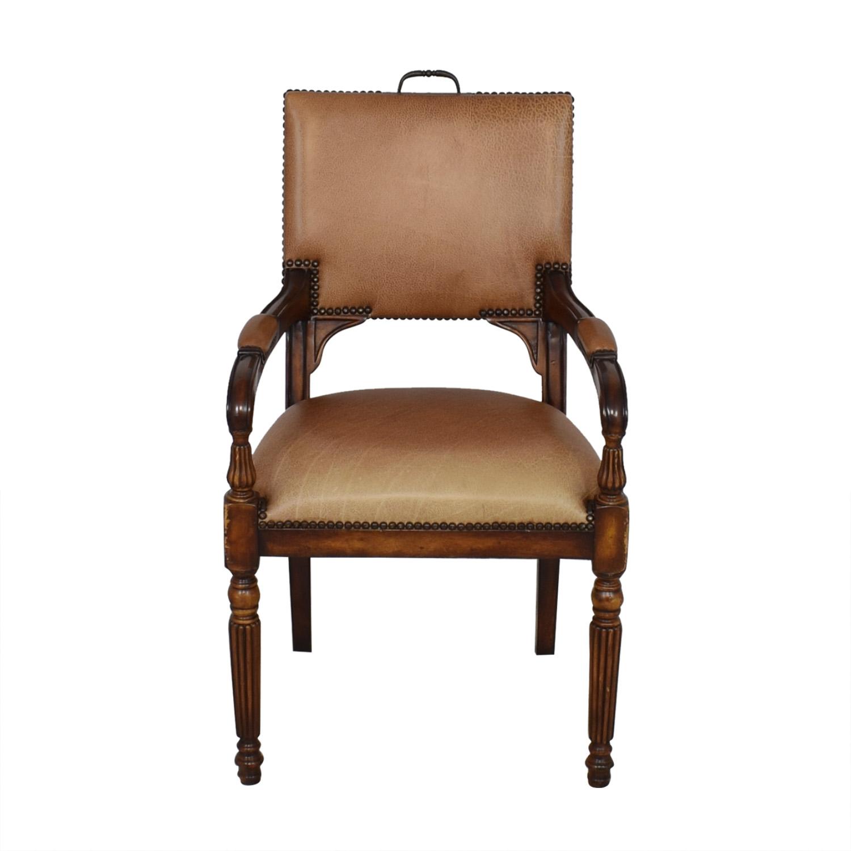 ABC Carpet & Home ABC Carpet & Home Nailhead Desk Chair bown