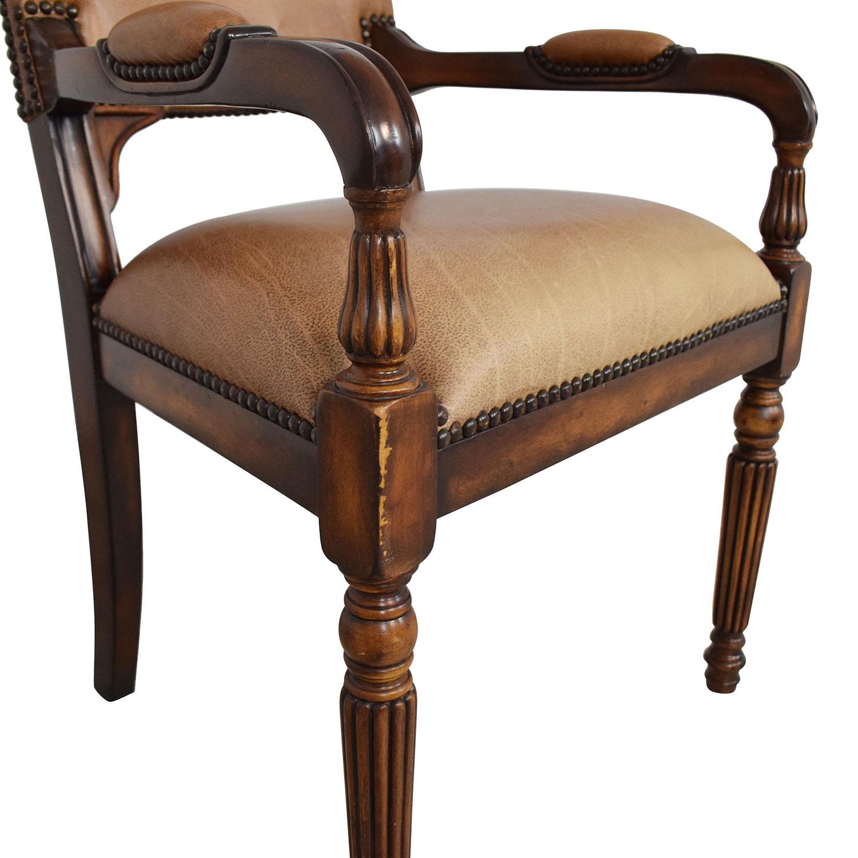 ABC Carpet & Home ABC Carpet & Home Nailhead Desk Chair
