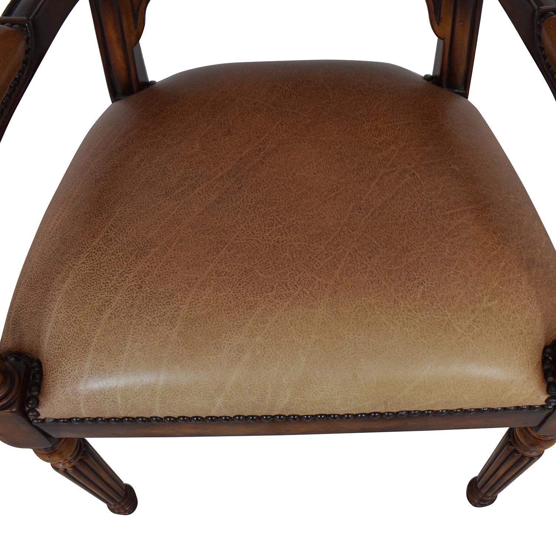 shop ABC Carpet & Home Nailhead Desk Chair ABC Carpet & Home Chairs