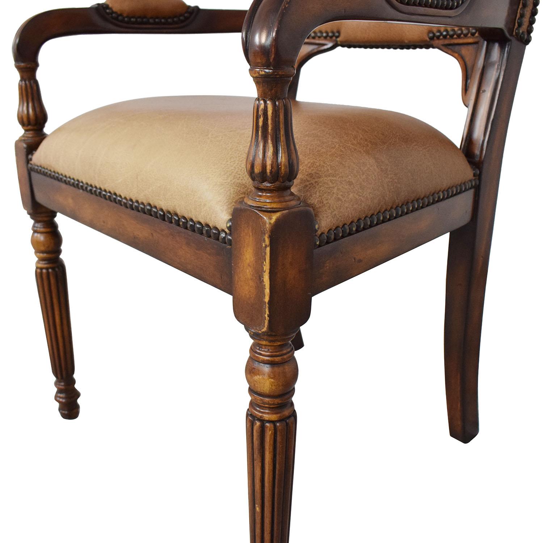 ABC Carpet & Home Nailhead Desk Chair ABC Carpet & Home