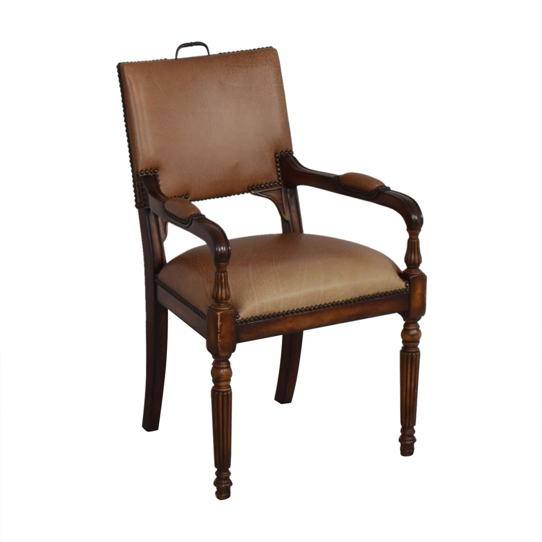 ABC Carpet & Home ABC Carpet & Home Nailhead Desk Chair nj